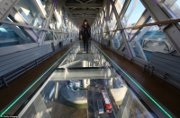 London's Tower Bridge Glass Walkway Opens