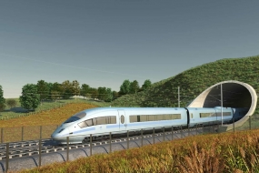 High-speed rail project begins in United Kingdom