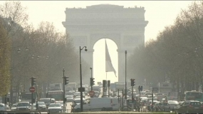 New sticker system to combat air pollution in Paris