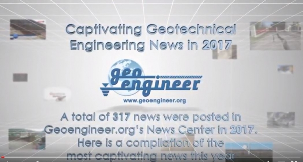 Video with the most captivating 2018 Geotechnical Engineering News