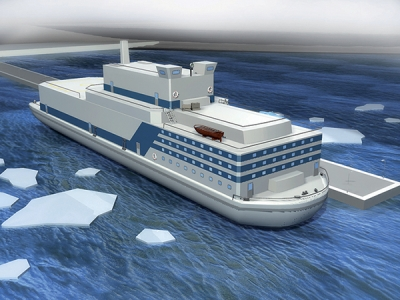 First-ever floating nuclear power plant is under construction in Russia
