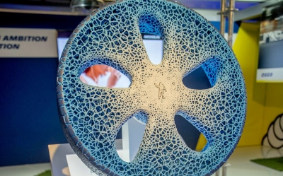 Michelin proposes an airless, 3D printed, environment-friendly wheel for the driverless age