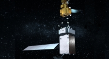 Robotic vehicles to fix broken satellites
