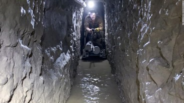 Authorities discover the longest smuggling tunnel in the United States-Mexico border