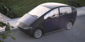 Sion: an electric car with integrated solar panels on its body