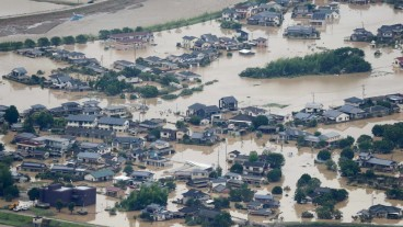 Japan devastated by extreme floods and landslides: At least 58 casualties