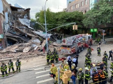 3-story building collapses in Brooklyn, New York
