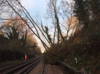 Landslide forces an entire railway line in UK to close