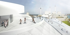 The hi-tech WTE plant in Copenhagen, expected to open this summer, will also feature a ski slope